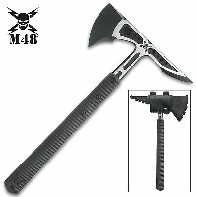 """16"""" M48 SURVIVAL CAMPING TOMAHAWK THROWING AXE Hatchet Hunting Knife Tactical"""