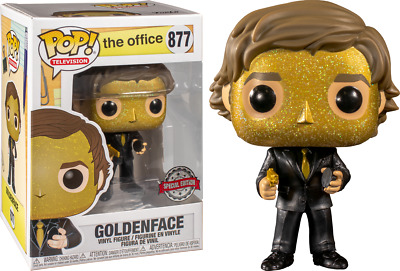 Funko Pop! The Office - Jim Halpert Goldenface #877 Exclusive