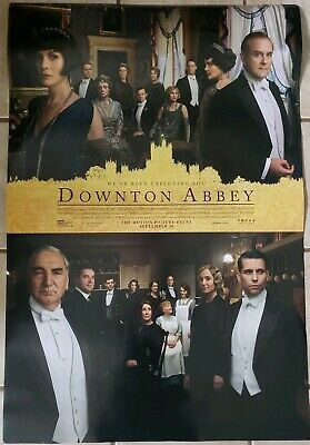Downton Abbey 27x40 Double Sided Movie Theater Poster