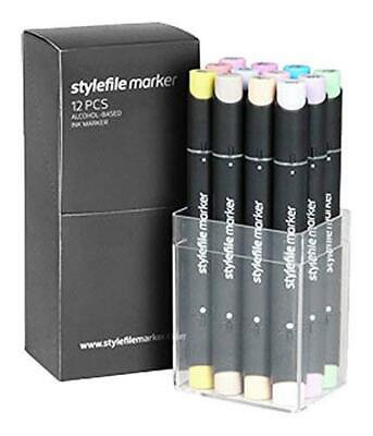 (TG. n/a) Stylefile Marker - Classic Set: Pastello Set - NUOVO