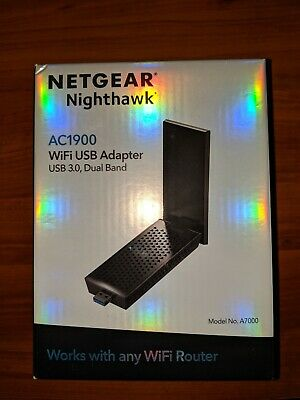 NETGEAR NIGHTHAWK A7000 (AC1900) Dual-Band Wi-Fi USB Adapter
