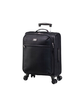 Jump (Solera) Carry On Expandable Suitcase Black