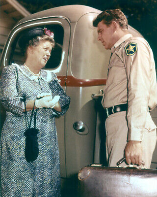 Andy Griffith Frances Bavier Pick Up Truck The Andy Griffith Show 16x20 Poster
