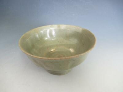 Korean Pottery old celadon small bowl/ Yi-dynasty/ 9137