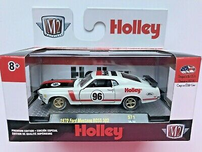 M2 Machines 1970 Ford Mustang BOSS 302 Holley O'Reilly Exclusive Limited 1/4875