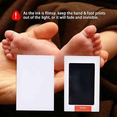 2PCS Baby Handprint And Footprint Ink Pads Paw Print Ink Kits For Baby And Pets