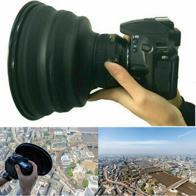 L Size Folding Ultimate Lens Hood Camera Reflection-free Photography Lens Cover