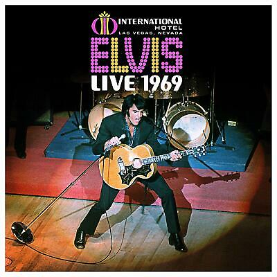 ELVIS PRESLEY Live 1969 BOX SET 11 CD + BOOK NEW .cp