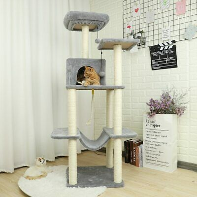 Fast Domestic Delivery Cat Tree Scratcher Animal Funny Scratching Post Climbing