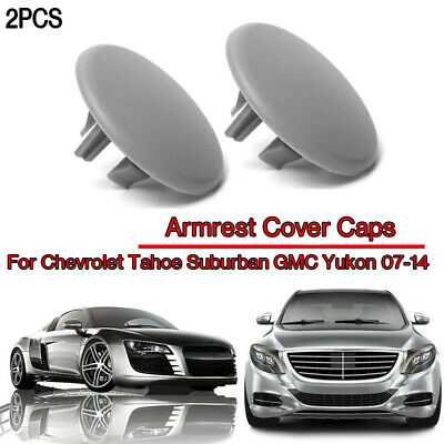 1Pair Armrest Center Console Covers Cap for Chevy Tahoe GMC Cadillac 15279689 US
