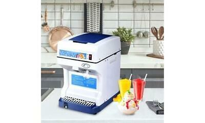 Ice Shaver Snow Cone Machine Slushie Frozen Ice Shaving Slush Commercial Maker