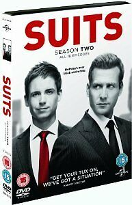 Suits - Season 2  (2013)  DVD - NEW SEALED