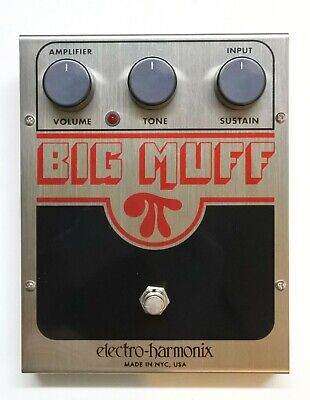Mint Electro Harmonix BIG MUFF Pi Distortion Sustainer #1 with Box Free Shipping