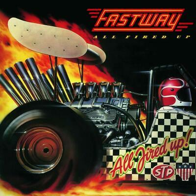 Fastway – All Fired Up CD ALBUM NEW(13THSEP)