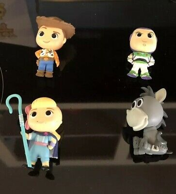 Funko POP! Toy Story 4 Mystery Minis- Lot of 4!
