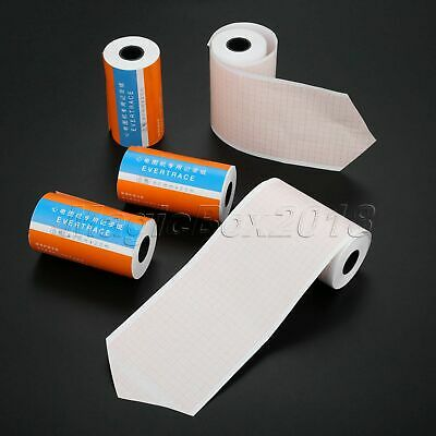 5 Rolls Thermal Recording Printer Paper for ECG EKG Machine 3-channel 80mm*20m