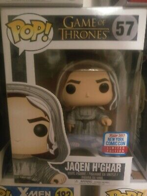 *OFFICIAL STICKER* NYCC EXCLUSIVE Funko Pop! Game of Thrones GOT JAQEN H'GHAR