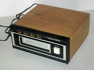 Vintage Realistic Stereo 8 Player TR-169 NICE!