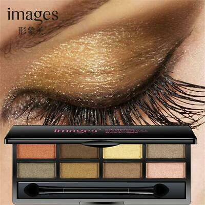 Matte Charming Mineral Pigment Eyeshadow Palette Pearl Shimmer Eye Makeup