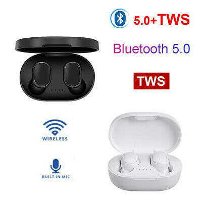 Mini BT5.0 Earphone Wireless Headphone In-Ear Twins Earbuds Sport Headset V1T4