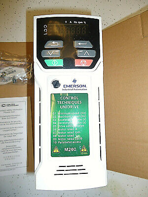 Emerson Industrial Automation Unidrive Model M200 2 HP