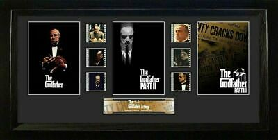 Godfather S2 Trilogy 20 X 11 Film Cell Numbered Limited Edition COA