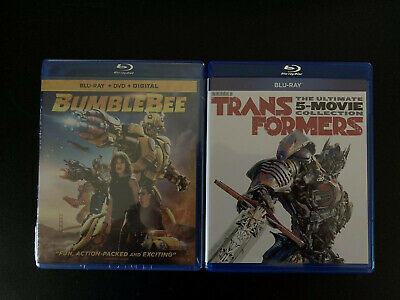BUMBLEBEE + TRANSFORMERS 6-Movie Collection (Blu-ray +