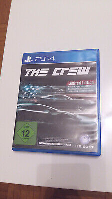 !!!!PS4,THE CREW- LIMITED EDITION ,PS4 - Spiel, Zustand!!!!!