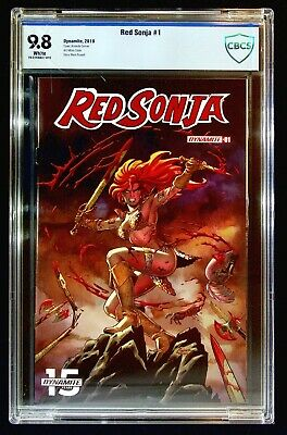 Red Sonja #1 (2019) CBCS 9.8 Conner Colak