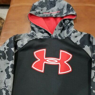 Under Armour Boy's Size YLG/JG Graphic Polyester Camo Hoodie