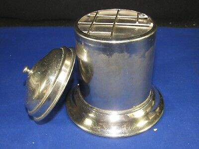 RARE Max Wocher & Son Surgical-Medical Forcep Sanitizer Jar-Can,Spring-Loaded