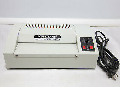 Fordigraph Commercial A4 Pouch Laminator A4 Heavy Duty Business Model 400W 160˚