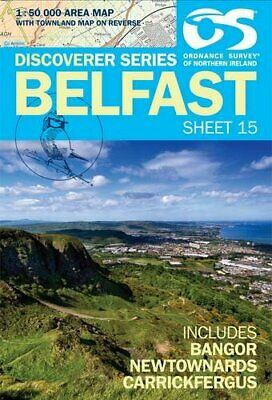 Belfast (Irish Discoverer Series) by Ordnance Survey of Northe Sheet map, folded