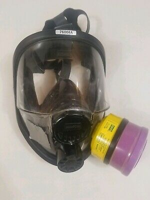 North By Honeywell 76008A Full Face Mask Respirator