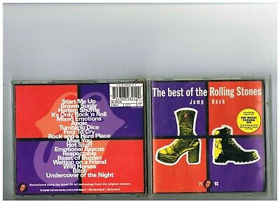 Rolling Stones  Cd.  Greatest Hits..the Best Of. Collection. Jump Back
