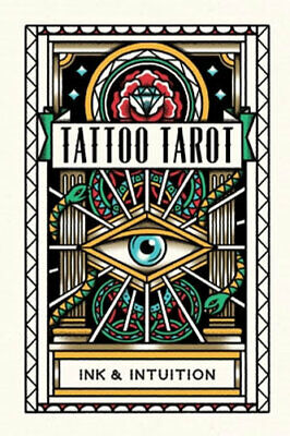 NEW Tattoo Tarot By MEGAMUNDEN Card or Card Deck Free Shipping
