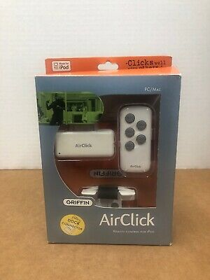 Griffin AirClick Remote Control For iPod
