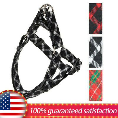 Outdoor Walking,Step in Basic Dog Harness-Adjustable,Quality,Puppy Vest 3 Colors