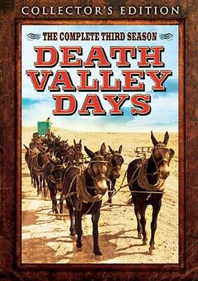 DEATH VALLEY DAYS TV SERIES THE COMPLETE THIRD SEASON 3 New Sealed 3 DVD Set