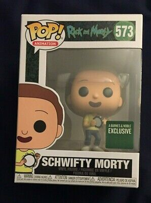 Rick and Morty SCHWIFTY MORTY Funko Pop 573 Barnes & Noble Exclusive Figure