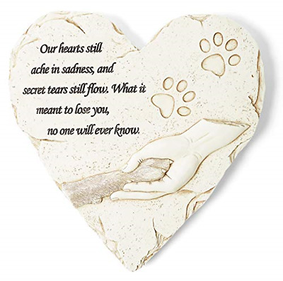 Dog or Cat Memorial Stone or Garden Grave Marker; Thoughtful Pet Sympathy Gift a