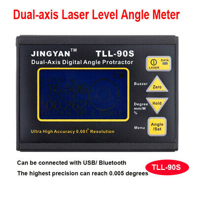 Mini Digital High Accuracy Level Protractor Inclinometer Laser Level Angle Gauge