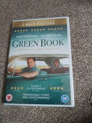 GREEN BOOK DVD NEW and sealed