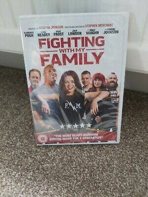 Fighting With My Family DVD. New and sealed