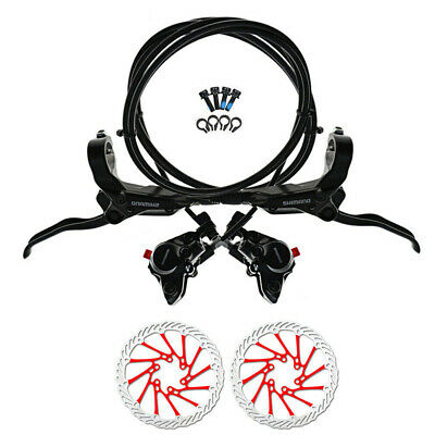 SHIMANO BR-BL-M365 Hydraulic Disc Brake Set Front & Rear Black With 160mm Rotors