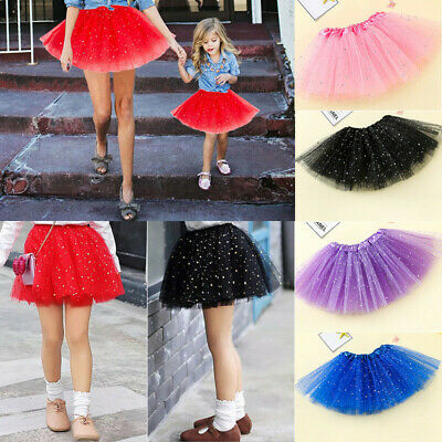 Daughter Mother Matching Dress Skirt Women Girl Tulle Tutu Short Dress Clothes