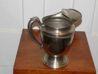 Silver or Silver Plate Hallmarked Pitcher