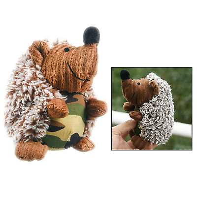 Itian Dog Toys Squeaky Hedgehog Dog Chew Toys Plush Squeaking Dog Toy Camouflage