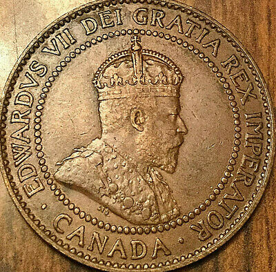 1909 CANADA LARGE CENT PENNY LARGE 1 CENT - Excellent example!