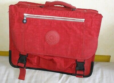 Cartable Kipling Rouge 40 CM